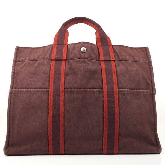 Auth Hermes Fourre-Tout Tote Bag #3979H91